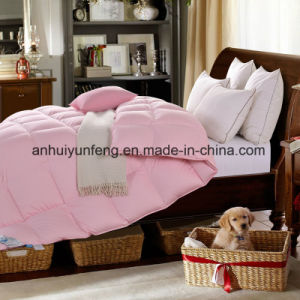 Luxury 90%Goose Down 10%Goose Feather Filled Comforter pictures & photos