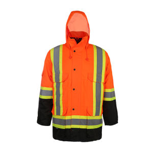Class 3 CSA Z96-09 Reflective Safety Winter Jacket pictures & photos