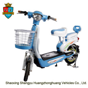 Hot Sale 350W 48V 12ah E-Scooter Electric Scooter for Women pictures & photos