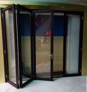 Durable Aluminium Bifolding Door for Main Entrance (BHA-DBF01) pictures & photos