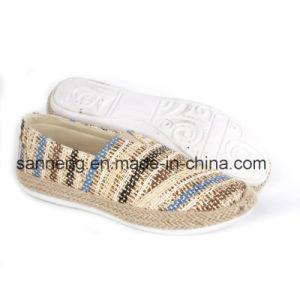 New Lady Comfortable Flat Shoes / Lady Espadrilles (SNC-45044) pictures & photos