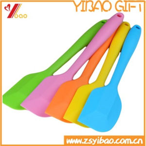 100% Food Grade Colorful Best Cooking Kitchen Silicone Spatula (YB-AB-012) pictures & photos