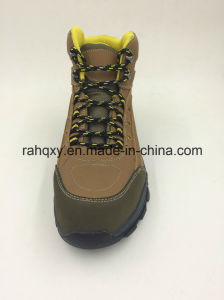 Split Leather Composite Toe Protection Kevlar Midsole Outdoor Shoes (16101) pictures & photos