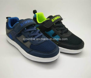 Children Casual Shoes with TPR Outsole and Fashion Mesh Upper pictures & photos