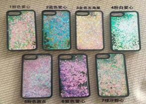 TPU+PU Phone Quicksand Case for Smart Phone Cell Phone Mobile Phone 10 pictures & photos