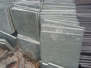 Hot Sell Grey Slate Flooring Tiles (SSS-92) pictures & photos
