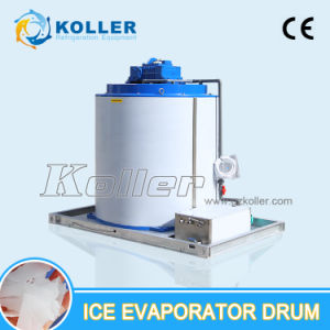 CE Approved 10 Tons Per Day Flake Ice Machine Use Evaporator Drum pictures & photos
