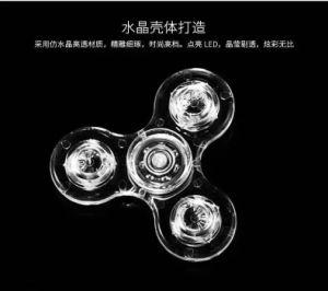 Factory Best Price Bluetooth Speaker Music LED Light Finger Fidget Spinner Toy pictures & photos