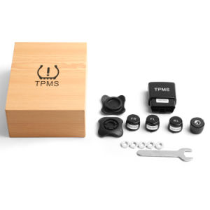 Tyre Pressure TPMS Tire Pressure Monitoring System OBD Bluetooth Voice Alarm TPMS Pressure Sensor pictures & photos