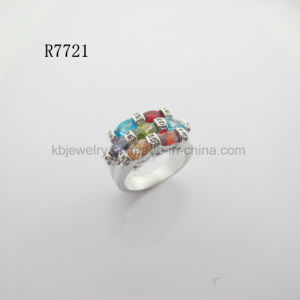 Pure 925 Silver Jewelry Finger Ring for Lady (R7721) pictures & photos