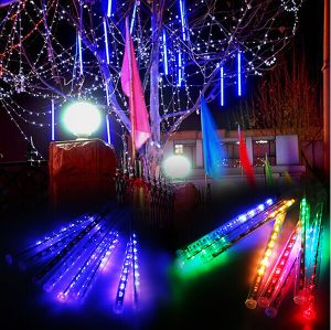 Waterproof SMD5050 3528 LED Meteor Tube Light for Christmas Tree Decoration pictures & photos
