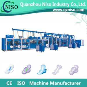 High Quality Ultrathin Sanitary Napkin Making Machine with Packing Machine pictures & photos