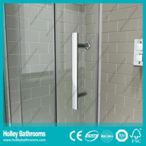 Clean Cut Rectangle Shower Sliding Enclosure with Aluminium Alloy Frame (SE906C) pictures & photos
