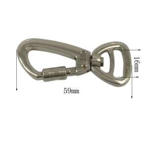 Fashion Accessories Gold 20mm Metal Swivel Snap Hook pictures & photos