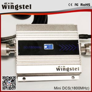 Lte 4G High Quality Mini Size 1800MHz Cellphone Signal Booster with LCD pictures & photos