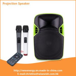 Professional Plastic LED Projection Loudspeaker - Projector