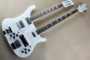 Hanhai Music/Black Ricken Style Double Neck Electric Bass and Guitar pictures & photos