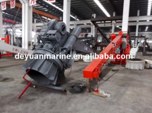 Single Arm Slewing Boat and Raft Davit with Crane Fast Rescue Boat Davit with Competitive Price pictures & photos
