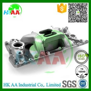 Ts16949 Certified Precision Machining Aluminum Satin Intake Manifold pictures & photos