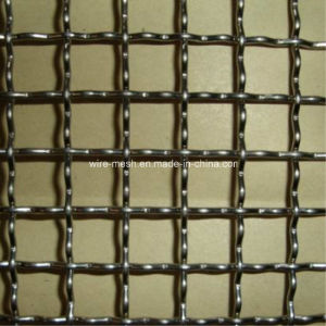 Locked Stainless Steel Crimped Wire Mesh pictures & photos