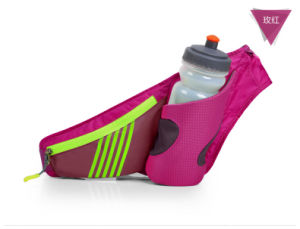 Fashion Design Canvas Waist Bag for Running/Fanny Pack Secure Travel Case Adjustable Belt Sport Pouch Waist Bag pictures & photos