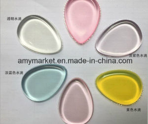Shiny Glittering Silicone Cosmetic Powder Puff Waterproof Makeup Puff pictures & photos