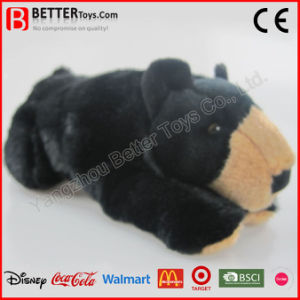 Realistic Stuffed Animal Black Bear Soft Toy pictures & photos