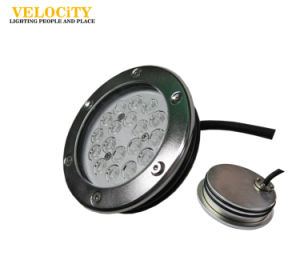 24V 18W/36W Multi Color Wall-Installed IP68 RGB LED Swimming Pool Light pictures & photos