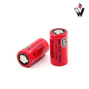 Aw18350 (700mAh/15A) High Drain Battery