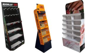 Cardboard Products Advertising Floor Display Stands pictures & photos