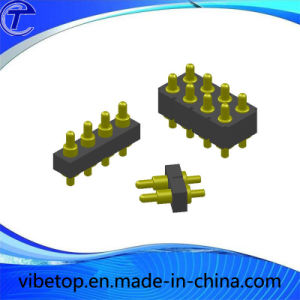 4p Brass Pogo Pin Connector pictures & photos