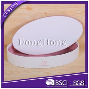 Hot Sale Custom Logo Black Round Cardboard Gift Box pictures & photos