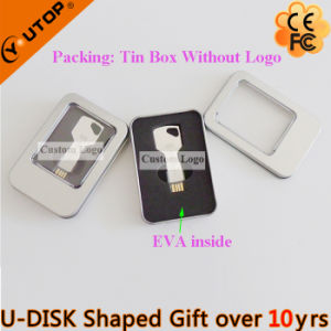 Custom Logo Key Shaped USB Pendrive for Lock Gift (YT-3213-07) pictures & photos