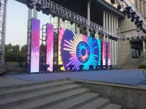 P4.81mm Outdoor LED Display Panel for Rental or Fixed Installation pictures & photos
