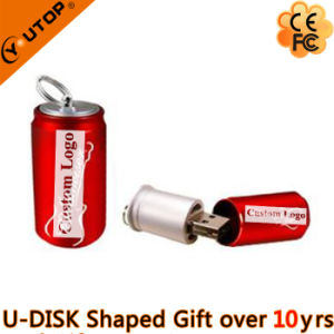 Custom Present Metal Red USB Flash Drive (YT-1132) pictures & photos