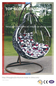 Outdoor Furniture Wicker Hanging Chair Rattan Furniture Swing (TGDL-018) pictures & photos