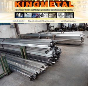 Mirror Polished 201/304 Stainless Steel Tubes for Decoration ASTM A554. pictures & photos