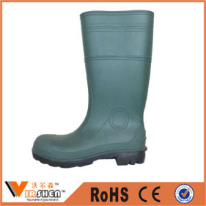 Construction Safety Working Gumboots PVC Rain Boots pictures & photos