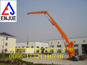 Telescopic Boom Marine Electric Hydraulic Crane Ship Deck Crane pictures & photos