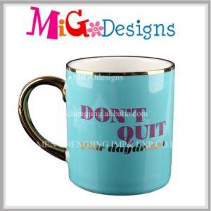 OEM Ceramic Promotion Plated Mug New Year Celebration pictures & photos