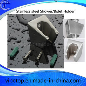 Sell Newest Stainless Steel Square Shower/Bidet Holder Factory Price pictures & photos