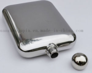 OEM High Quality Vodka Whisky Stainless Steel Hip Flask pictures & photos