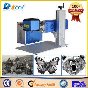 Dekcel 20W Fiber Laser Etching Marking Machine pictures & photos