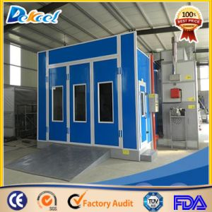 Economic Water Curtain Furniture Painting Room Auto Maintenance Equipment Car Spray Booth pictures & photos