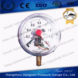 1.6MPa Magnetic Electric Contact Pressure Gauge pictures & photos