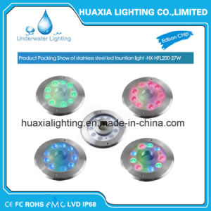 24V IP68 Ss316 LED Underwater Fountain Light pictures & photos