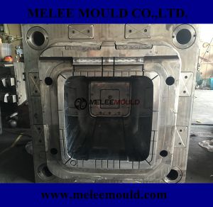 Melee Plastic Injection Trash Can Molding pictures & photos