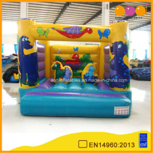Colorful Inflatable Kids Bouncer with Printing (AQ02125) pictures & photos