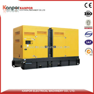 160kw 200kVA Doosan Super Silent Diesel Generator Set (Engine P086TI) pictures & photos
