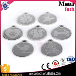 Wholesale Different Shapes Matt Silver Metal Dog Tag pictures & photos